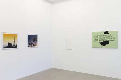 |Glen Rubsamen, Monument Valley Monte Mario & El Refugio, 2010|Rita McBride, Mini Manager (slim), 2007|Johannes Wohnseifer, Spam Painting No. 59, 2010